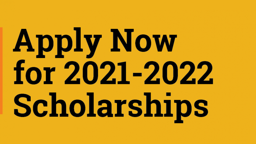 Apply Now for 2021-2022 Scholarships