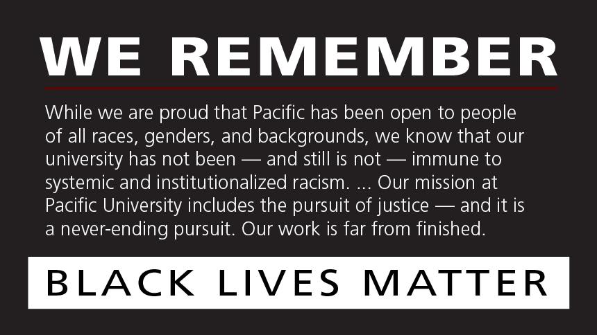 We remember ... Black Lives Matter