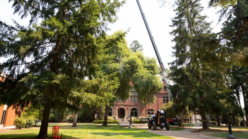 Facilities Spruces up Pacific University During Summer Projects