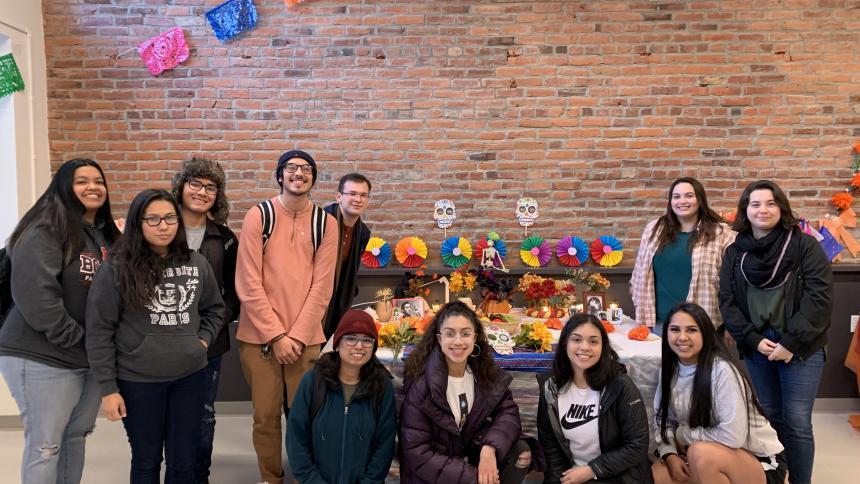 ALAS group at Dia de los Muertos