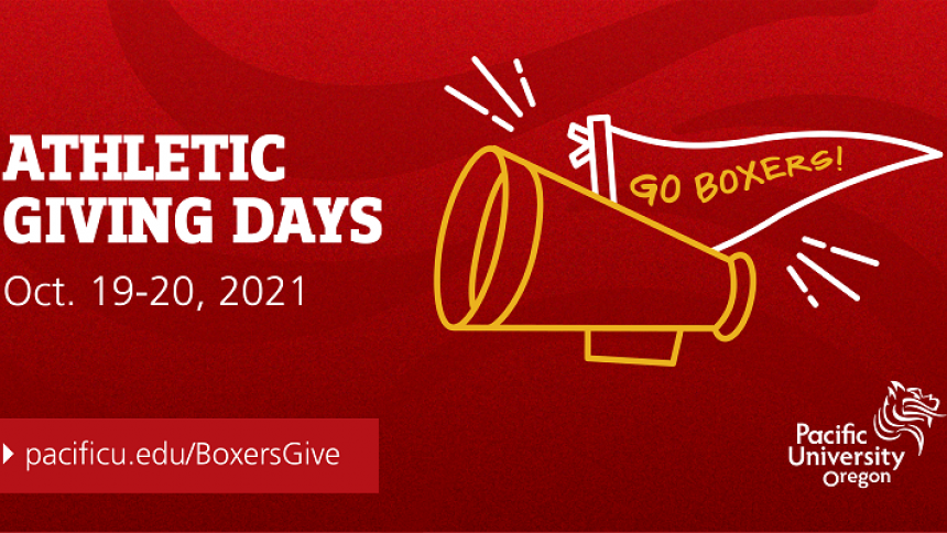 Athletic Giving Days is Oct. 19-20, 2021