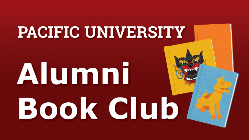 alumni book club graphic