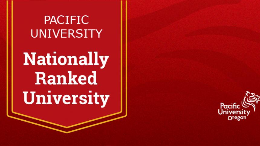 Nationally Ranked University