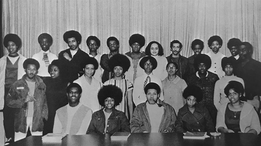 Members of the BSU in 1969