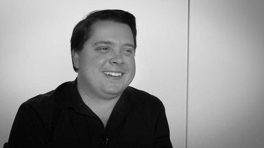Aaron Bergman Smiling