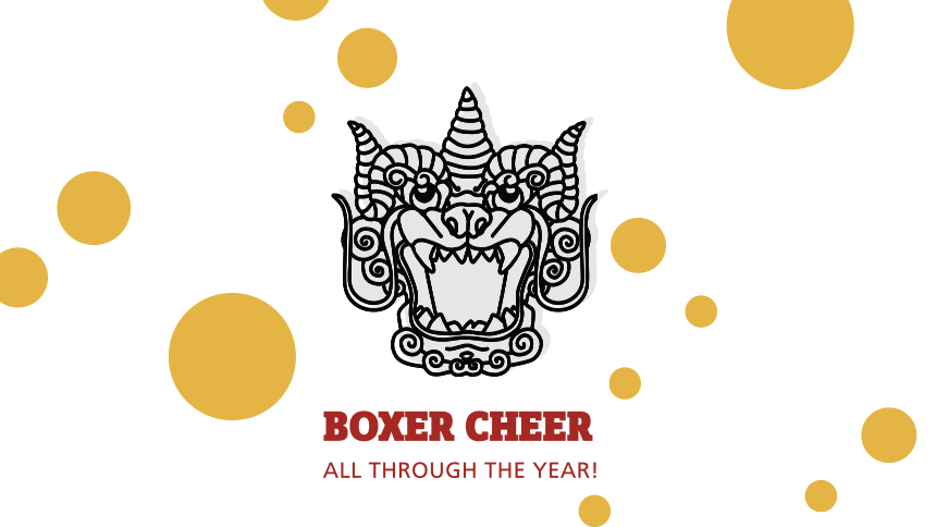Boxer Cheer All Through the Year
