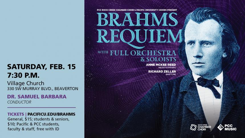 Brahms Requiem at Village Church