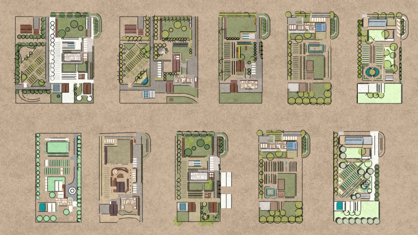 Drawings of Forest Grove Campus