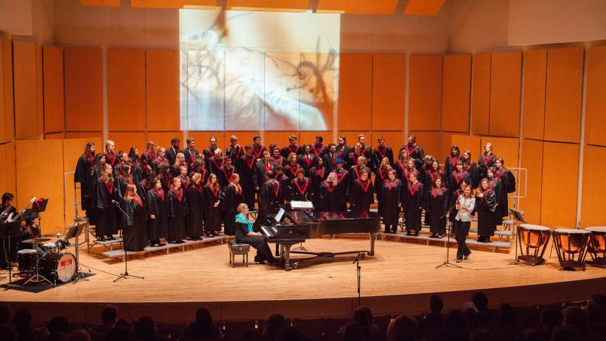 Pacific University choral concert
