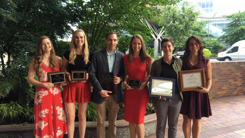 Physical Therapy Class of 2018 Awards Recipients