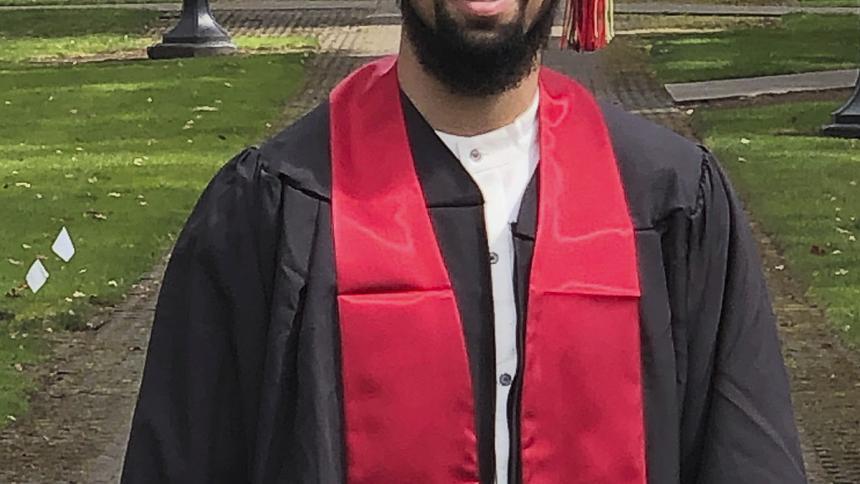 Dante Reid graduation