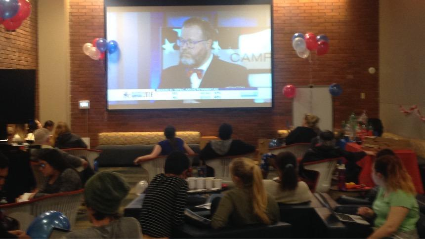 Election Watch Party in UC