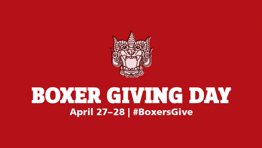 Boxer Giving Day April 27-28