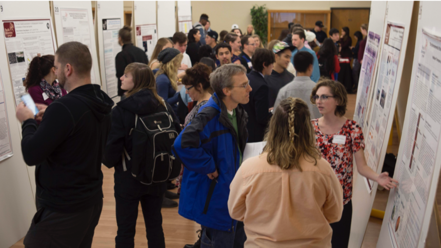 Students at Undergraduate Research Conference 2019