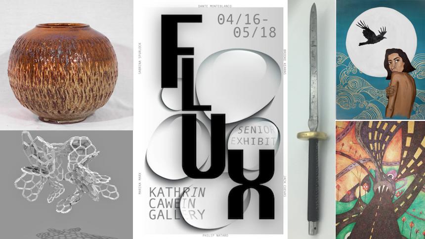 Art from Flux: Virtual Senior Exhibition Art Gallery