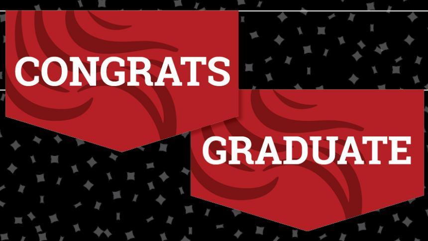 Congrats Graduate Banner