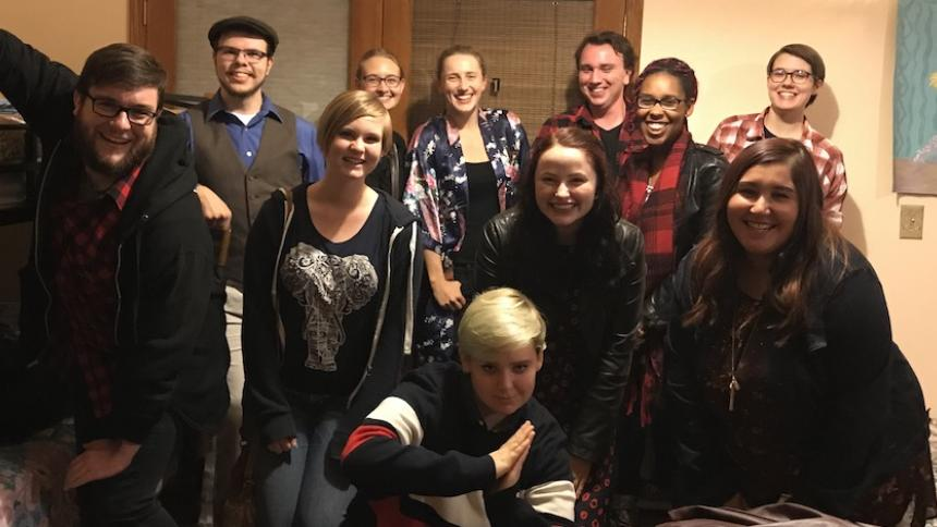 Students on trip to Oregon Shakespeare Festival