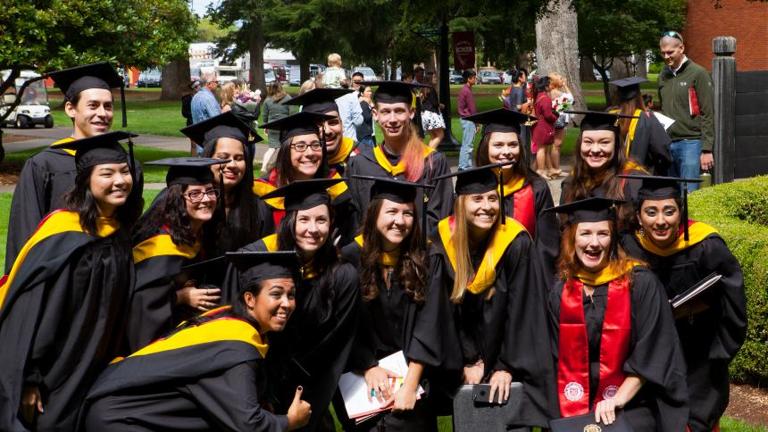 May 2019 Graduation Weekend Pacific University