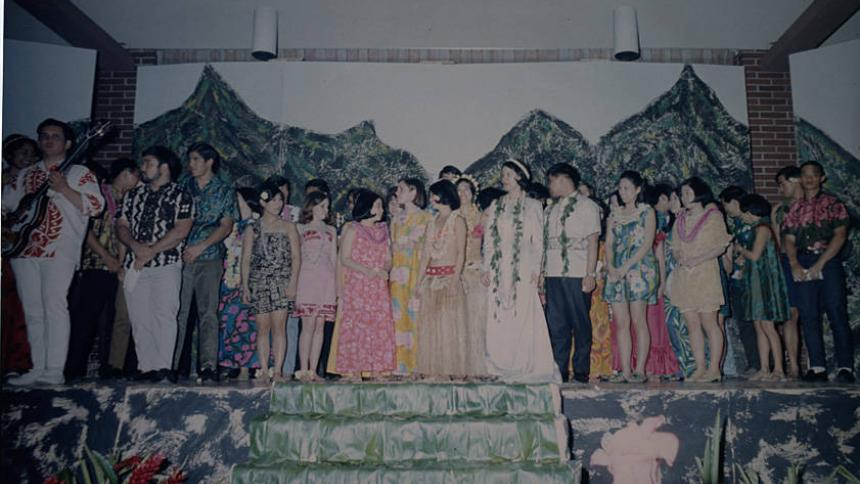 Luau in the 1960s