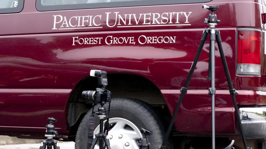 Pacific University van