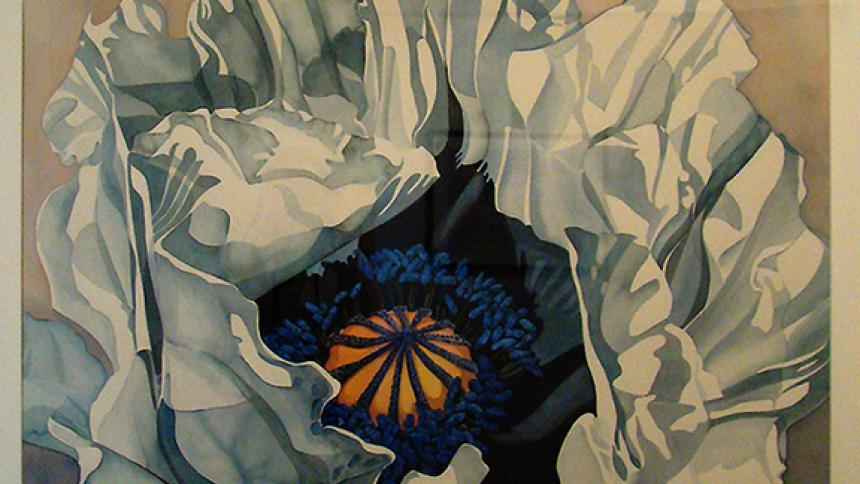 Artwork of flower