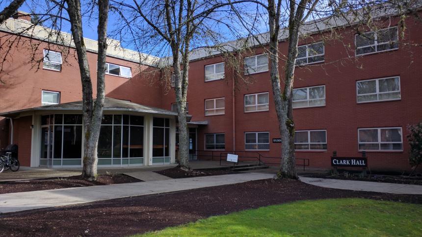 Clark Hall exterior