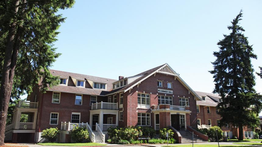 McCormick Hall exterior