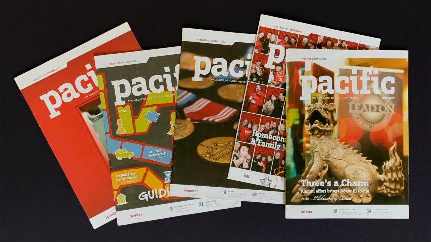 Issues of Pacific magazine