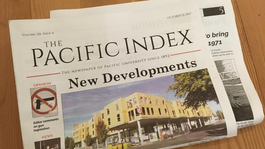 Issue of Pacific Index Newspaper
