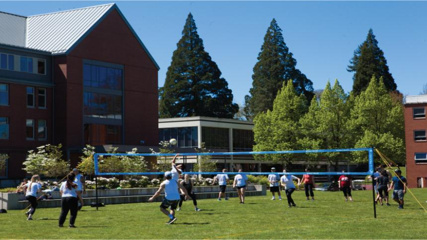 Volleyball Forest Grove Campus