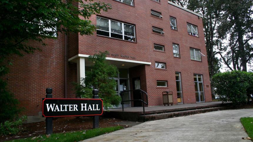 Walter Hall exterior