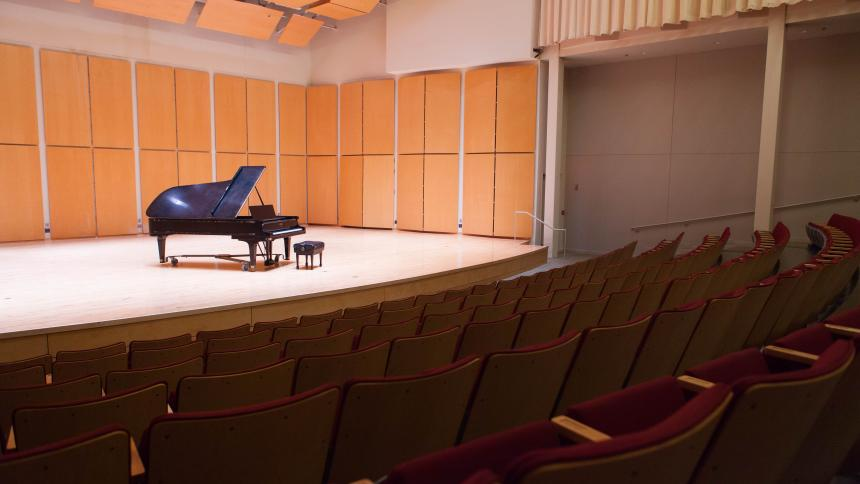 McCready Hall Stage, Taylor-Meade Performing Arts Center