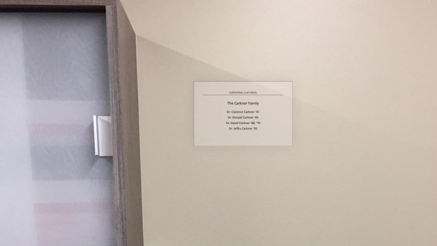 Carkner plaque
