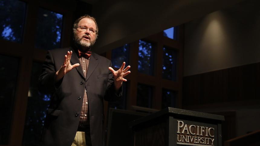 Jim Moore speaking