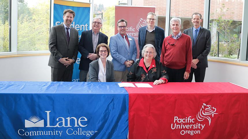 LCC and Pacific officials sign partnership agreement