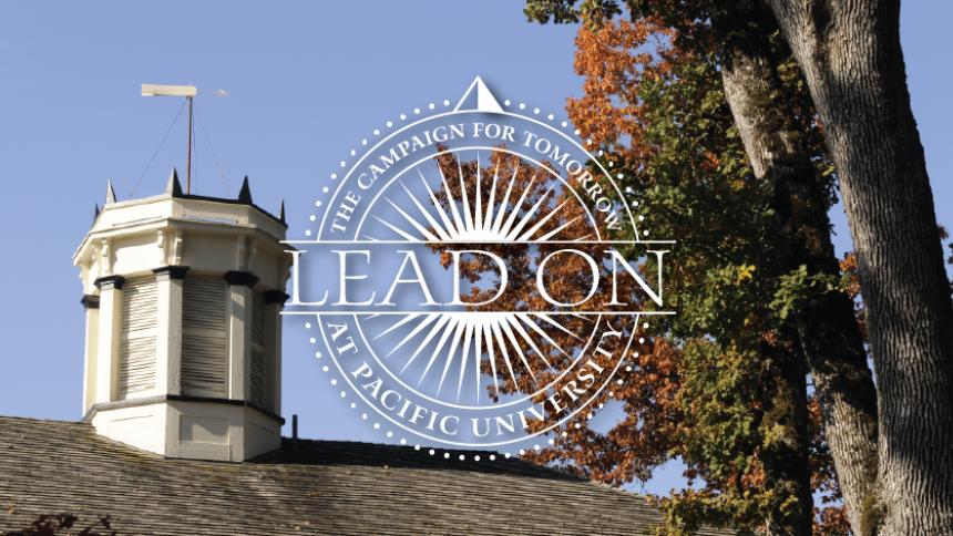 Lead on logo & image