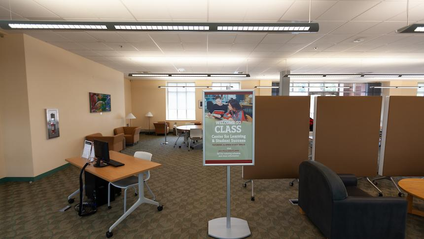 Library tutoring space