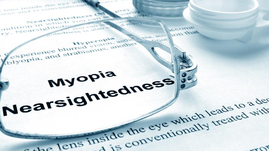 Definition of Myopia Nearsightedness