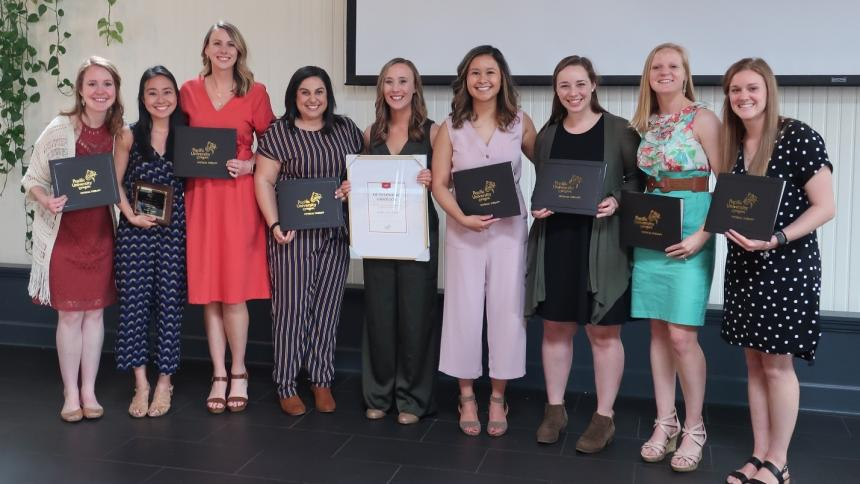 Physical Therapy Program Class of 2019 Award Recipients