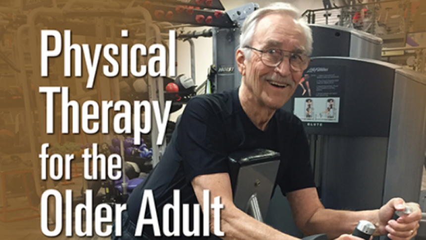 Older Adult doing Physical Therapy