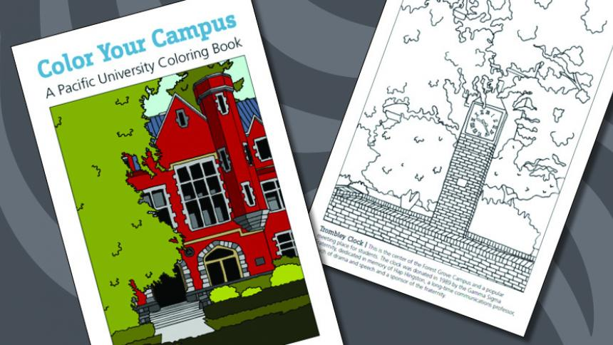 Printable Pacific University Coloring Book