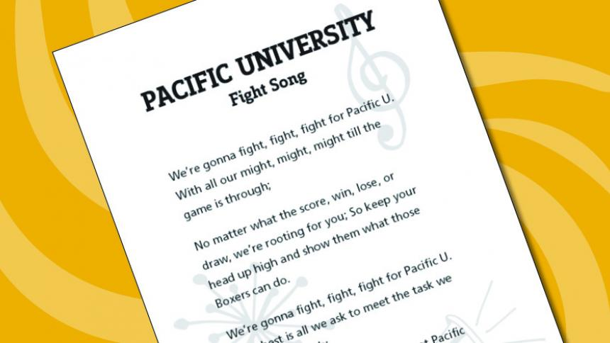 Printable Fight Song