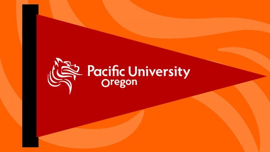 Printable Pacific University Pennant