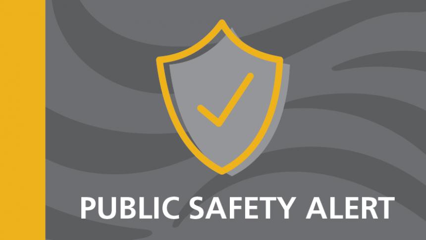 Public Safety Alert