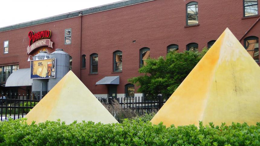 Pyramid Alehouse in Seattle