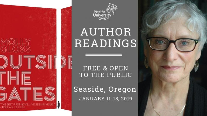 January 2019 Author Reading series, Molly Gloss