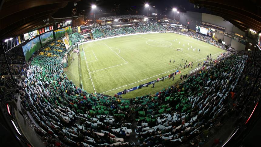 Timbers stadium