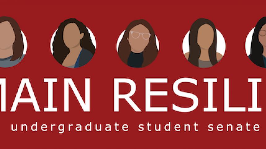 UG student senate logo
