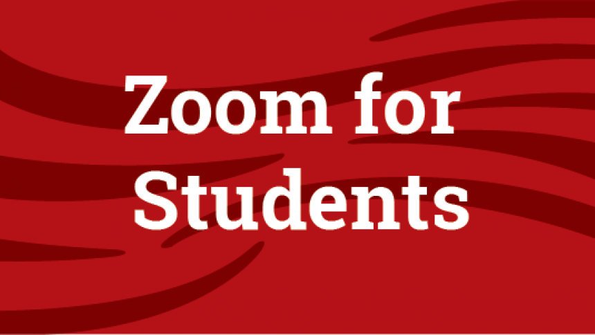 Zoom for Students