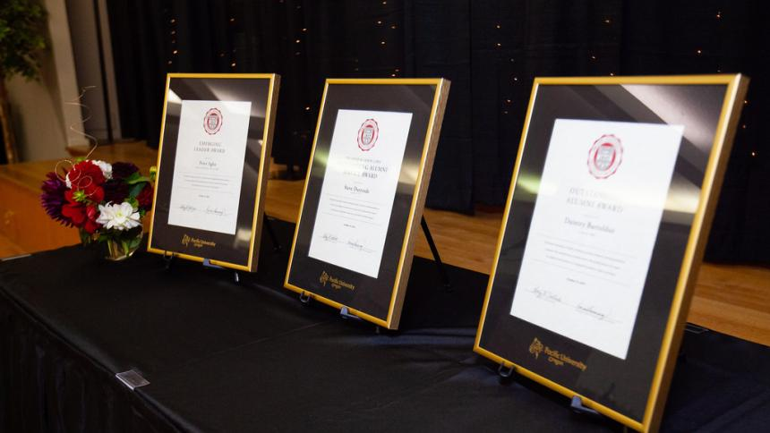 Photo of the 2018 Alumni Awards